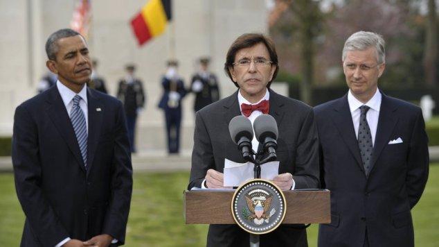 Obama Di Rupo Roi Philippe